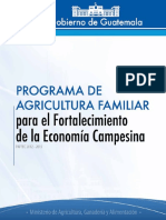 Programa de Agricultura Familiar Ampliado