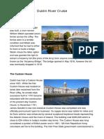 Dublin River Cruise