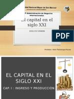 Resumen El capital en el Siglo XXI Pickety