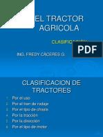 Clasificacion de Tractores New 1