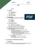 Hidrogeología San Cristobal