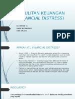 Kesulitan Keuangan (Financial Distress)