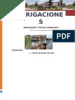 Irrigaciones peru 2014