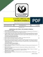 GACETA OFICIAL DEL DISTRITO FEDERAL, 30 de enero de 2014