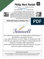 Bulletin ForJune26 2016