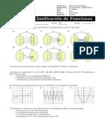 Guía n°2 - Unidad de Funciones - Función inyectiva, sobreyectiva y biyectiva - Cuarto Medio