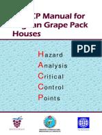 HACCP Manual for Grape Packing Jan-2019