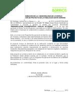 Aprobación Polideportivo Municipio Abril 2013