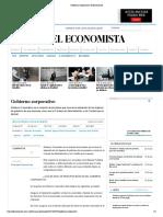 Gobierno Corporativo _ El Economista