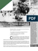 122424488 Dominguez NA Ene 2012 Los Radares 909 Durante La Guerra de Las Malvinas Boletin Del Centro Naval No 832