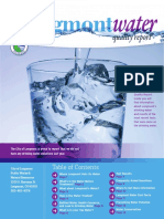 Longmont Drinking Water Quality Report for 2015