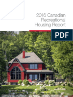 2016 Canadian Recreational Housing Report