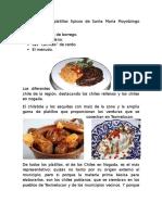 Los Principales Platillos Típicos de Santa María Moyotzingo Son
