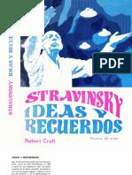 CRAFT, R. - Stravinsky