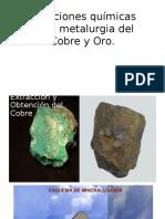 Clase Metalurgia Del Cobre y Oro