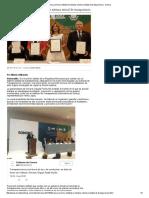 08-6-16 Sonora, primera entidad en instalar sistema estatal de transparencia. -Uniradio