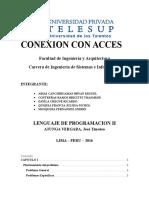 Coneccion de Access a php