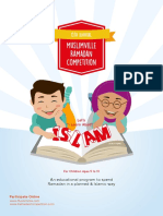 Ramadan Competition 2016 Booklet
