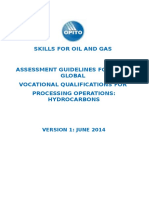 Assessment Guidelines for Processing Operations Hydrocarbons