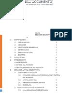 Perfil Tecnico Comunidad Campesina Azapampa