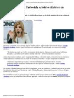 07-06-16 Defiende Claudia Pavlovich subsidio eléctrico en Sonora. -Sexenio