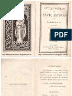 A Vida e o Culto de Sto Antonio