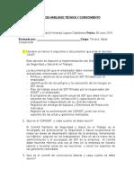 Prueba de Habilidad Técnica y Conocimiento Inspector Sst(1)