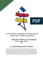 La colombianización de Mexico