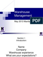 Highly Competitive Warehouse Managemet