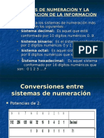 2 Sistemas de Numerac y Represent de La Inform