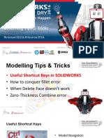 SWID2016 User Meet Tips & Tricks