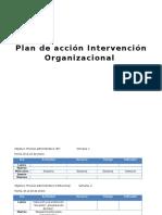 Plan de Accion Intervencion Organizacional