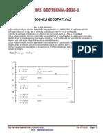 PRESIONES GEOSTATICAS geotecnia