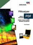 FRAnalyzer User Manual