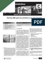 Normas ISO para los archivos y sus documentos