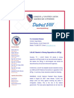 LULAC Opposes 287(g)