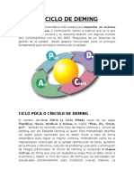 El Ciclo de Deming