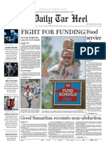 The Daily Tar Heel for May 20, 2010