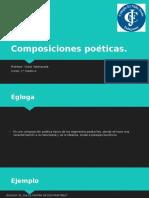 formas poeticas - 1° m A