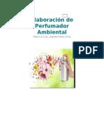 Elaboracion de Perfumador Ambiental