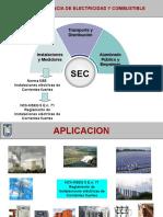 Tarea NSEG 5. E.n. 71 Reglamento de Instalaciones Eléctricas de Corrientes Fuertes