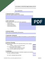 Local Content Registration Form