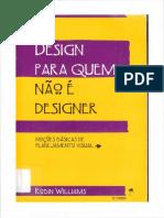 Design Para Quem Nao e Designer Robin Williams