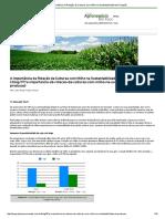 A Importância Da Rotação de Culturas Com Milho Na Sustentabilidade Da Produção