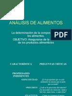 Notas de Analisis de Alimentos Introduccion (1)