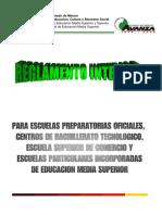 Regla Men to Interior Escuela s Media Superior