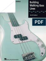 Ed Friedland - Building Walking Bass Lines