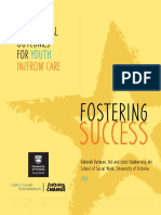 UVIC School of Social Work - Fostering Success