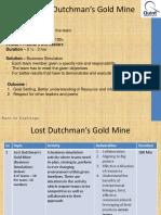 Quint's Lost Dutchman's Gold Mine
