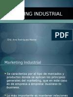 Myslide.es Dra Ana Rodriguez Martel Marketing Industrial Marketing Industrial Se Caracteriza Por El Tipo de Mercados y Productos Donde Se Aplican Los Principios
